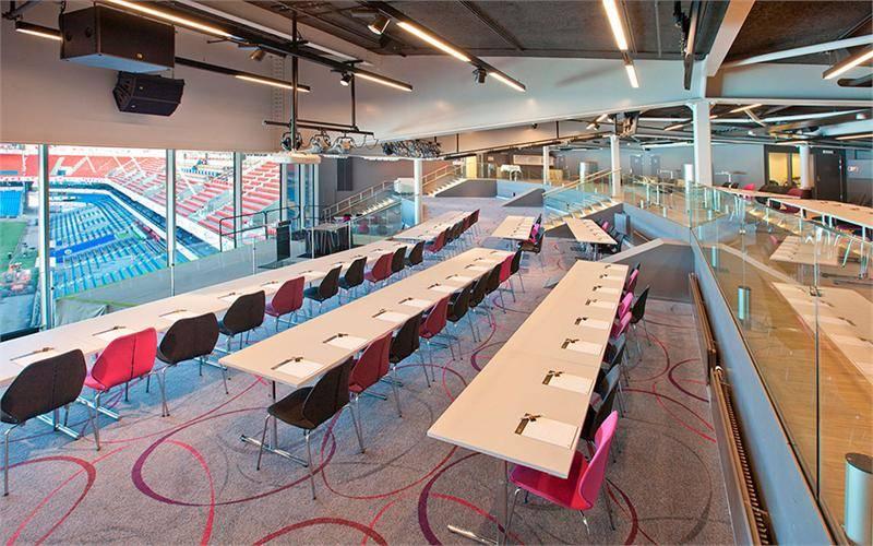Panorama har kapasitet på inntil 460 personer avhengig av bordoppsett